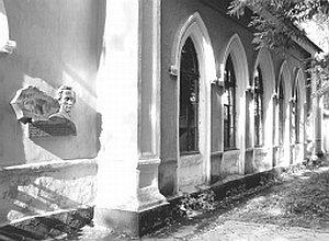 Приміщення поштової станції, де у 1935–1939 роках розміщувався штаб 45-ї стрілецької дивізії)