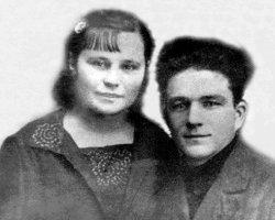 Сім'я підпільників Костянтин і Таїсія Ващуки