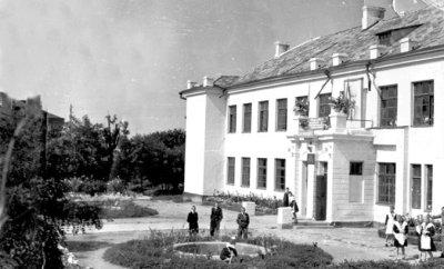 Середня школа № 5. Фото кінця 1950-х років