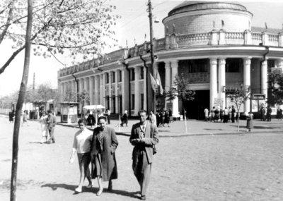 Кінотеатр ім. Щорса. Фото 1950-х років