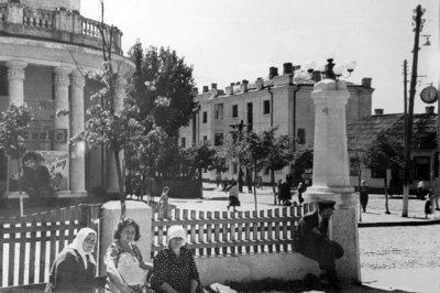Центр міста у 1950-ті роки