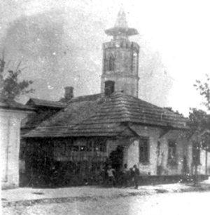 Новоград-Волинська каланча. Фото 1950-х років