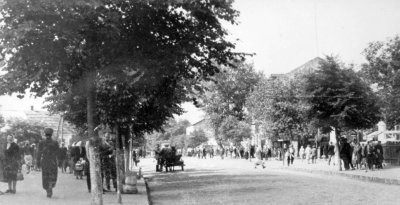 Вулиця Леніна (нині Шевченка). Фото 1950-х років