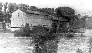 Лубчицький млин. Фото 1970-х років