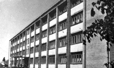 Школа-інтернат. Фото 1970-х років