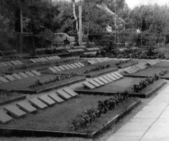 Військове кладовище реконструйоване на честь 30-річчя Перемоги