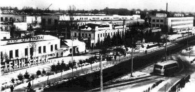 Завод сільськогосподарських машин. Фото 1970-х років