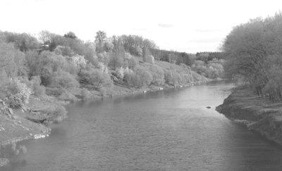 Річка Случ в районі Житомирського моста. Фото поч. 2000 років