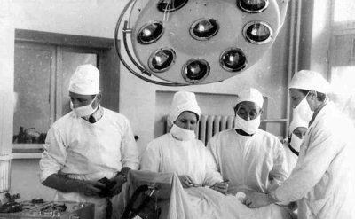 В операційній міськрайТМО. Фото 1980-х років
