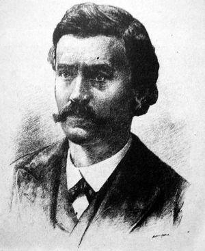 Володимир Боніфатійович Антонович (1834–1908) (Автолітографія, кін. XIXст., автор T.Маєргофер)