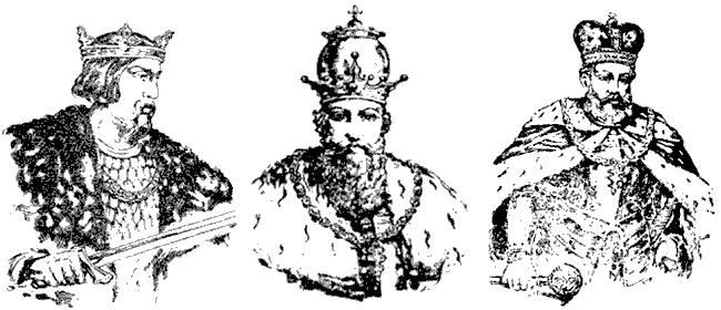 Князі: Роман Мстиславич, Данило Романович, Лев I Данилович