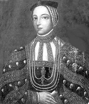 Беата Костелецька-Острозька, (1515–1576)