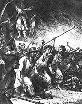 Ілюстрація В.Касіяна до поеми Т.Шевченка «Гайдамаки»