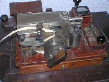 Один із перших телеграфних апаратів, який обслуговував потреби новоград-волинців