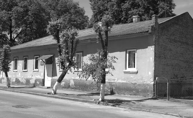 Колишній будинок Висоцького, сучасний вигляд (нині центральна районна бібліотека)