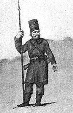 Ополченець 1812 року (Іст.музей)