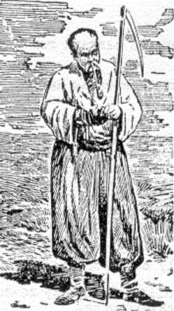 Український селянин (мал. С.Васильковського)