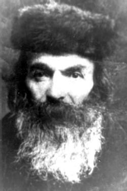 Четвертий звягельський цадик Шльома Гольдман (1869–1945). Фото початку ХХ ст.