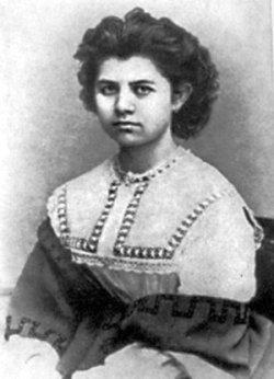 Драгоманова-Косач Ольга Петрівна, (1849–1930). Фото 1866 року