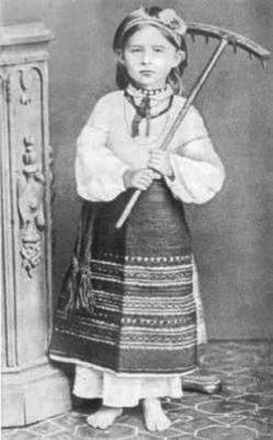 Леся Косач. Фото 1878–1879 років