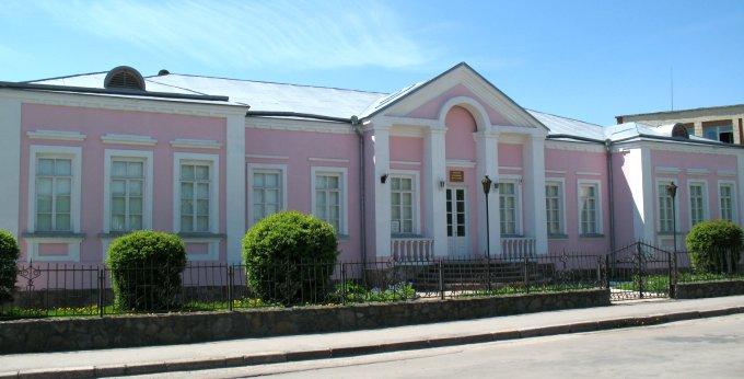 Відтворений на місці будинку Завадських музей родини Косачів. Фото 2011 року