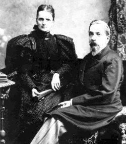 Лікар Пилип Іринеєвич Немоловський з дружиною Марією Михайлівною – звягельські приятелі Косачів