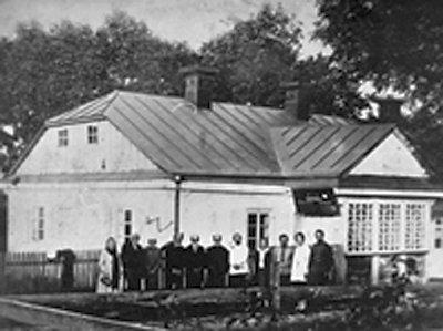 Будинок, в якому народилася Леся Українка. Фото 1929 року