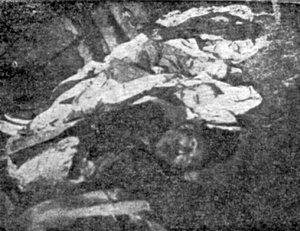 Вбита в квітні 1919 р. родина Лурьє (з меморіальної книги «Звіл»)