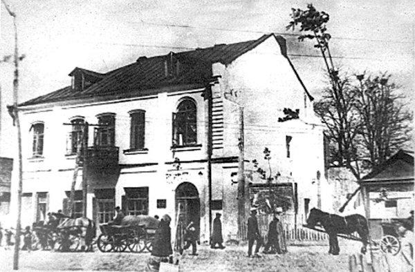 Колишній будинок Мармера в 1920 р. (фото ЦДАКФФДУ)