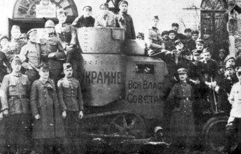 Броньовик «Українець», захоплений у бою поляками