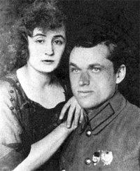 К.К.Рокоссовський з дружиною Юлією