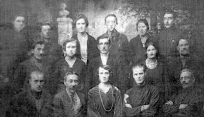 Новоград-Волинський театральний гурток. Фото 1931 року