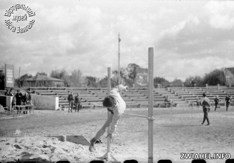 Змагання на стадіоні на честь Дня машинобудівника (?)