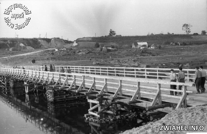 Міст через Случ в районі вулиці Щорса