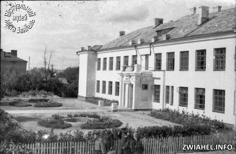Школа №5: вид з боку садка
