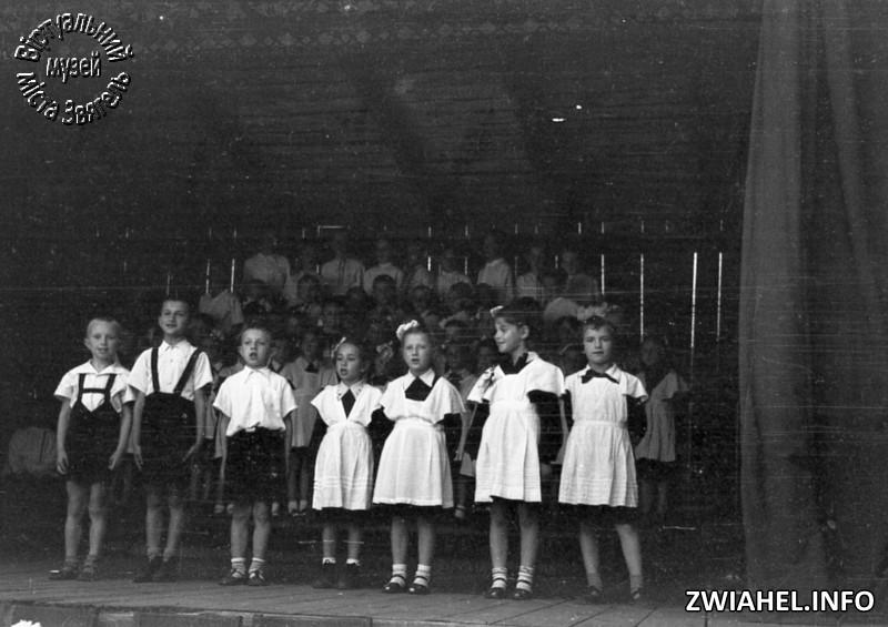 Школа №5: концерт у літньому театрі
