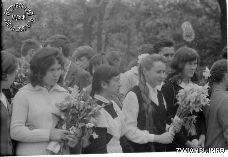 Школа № 5: останній дзвоник 1966 року