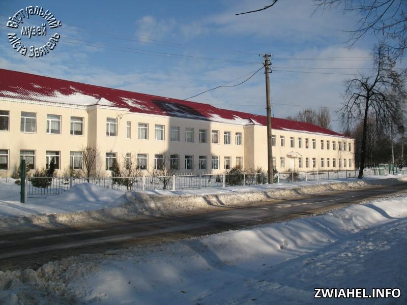 Школа № 5 взимку